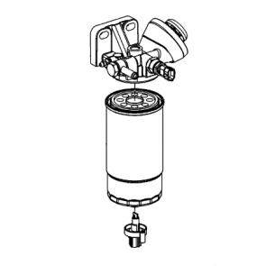 Bränslefiltersats - 898101503